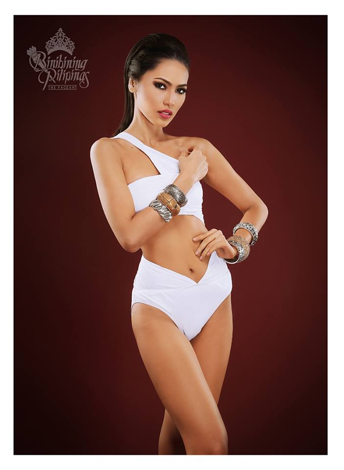 Binibini #19 MARIA LINA N. PRONGOSO during Binibining Pilipinas 2016 Swimsuit portraits
