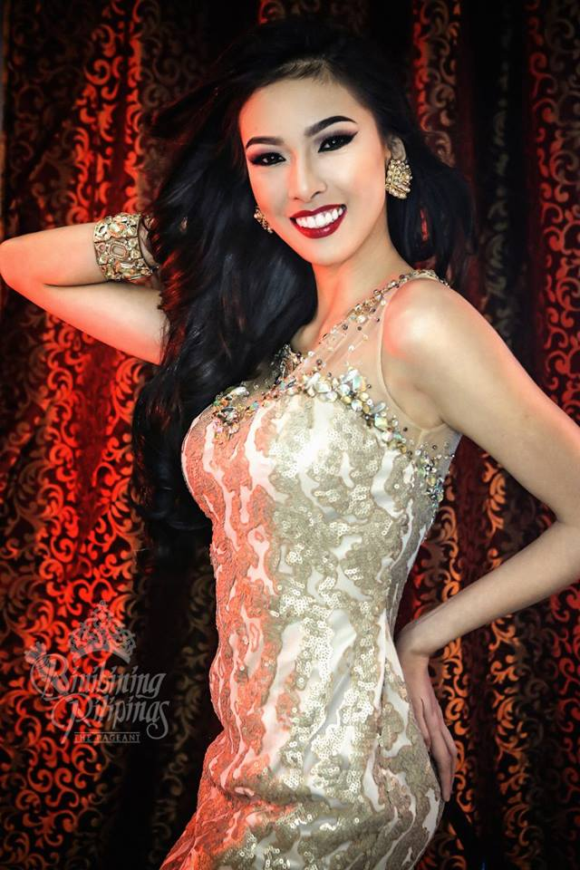 Binibini #2-ALEXANDRA FAITH GARCIA during Binibining Pilipinas 2016 Glam Shots