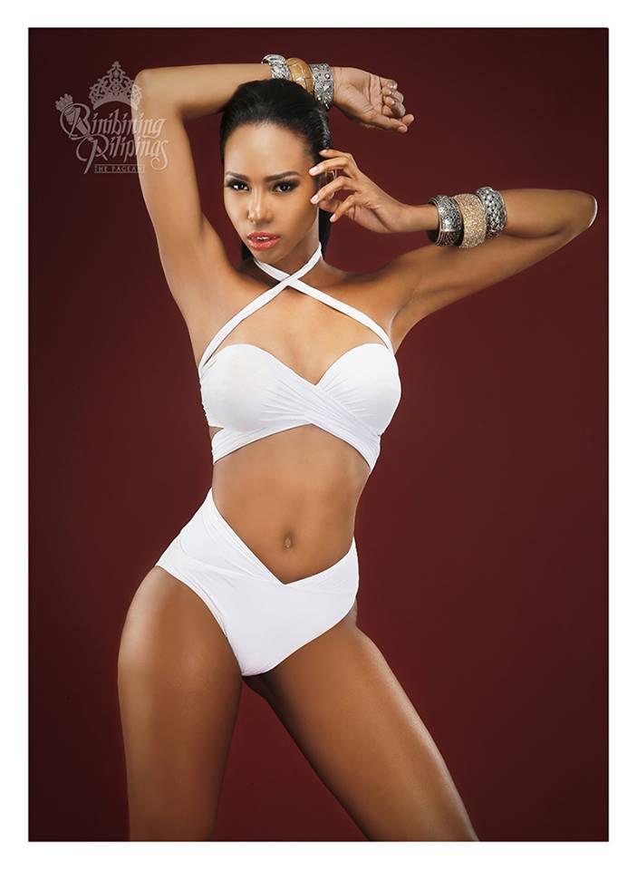 Binibini #22 APRIEL SMITH during Binibining Pilipinas 2016 Swimsuit portraits
