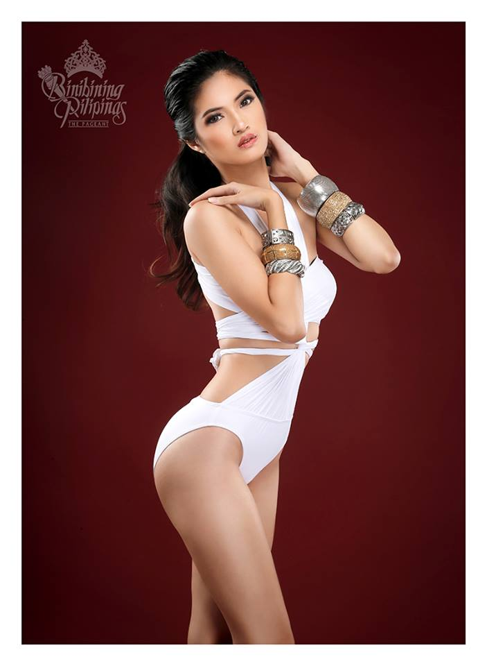 Binibini #23 ANGELA GENE R. VALDES during Binibining Pilipinas 2016 Swimsuit portraits