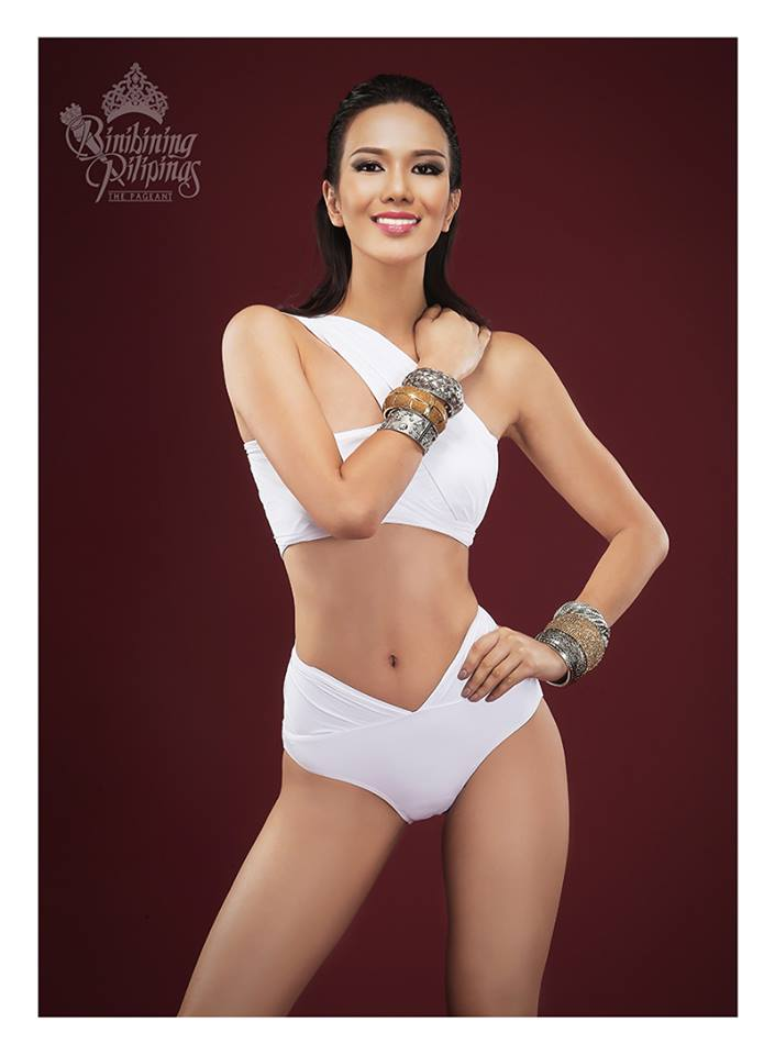Binibini #26 JENNIFER HAMMOND during Binibining Pilipinas 2016 Swimsuit portraits