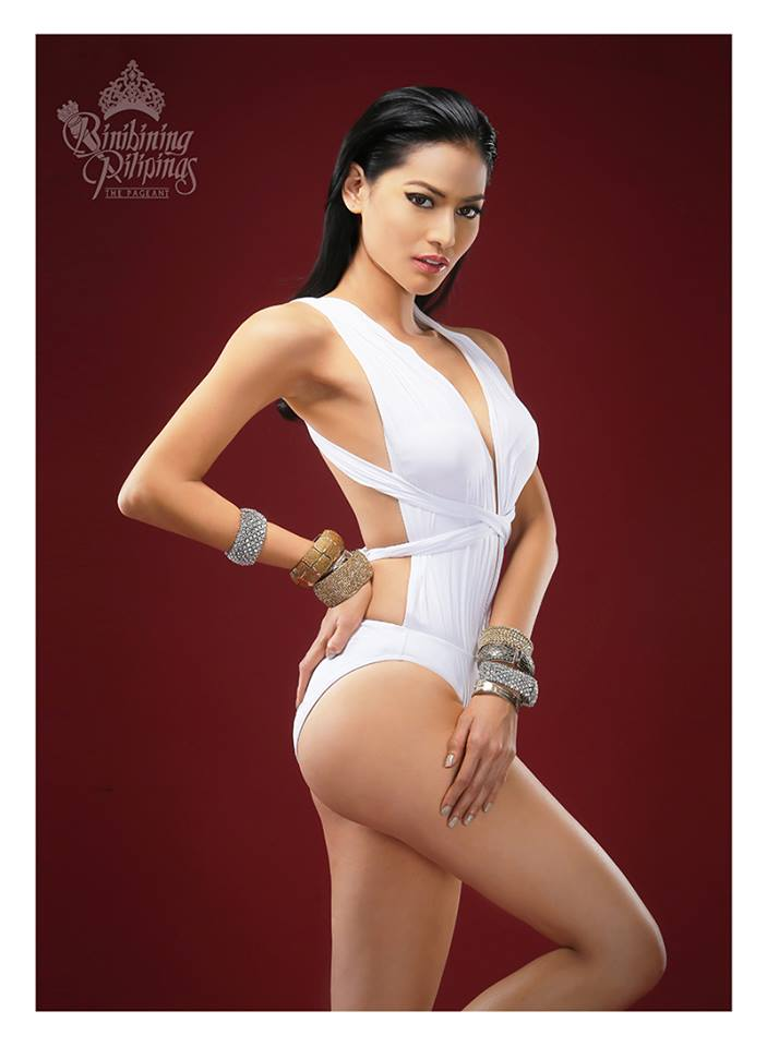 Binibini #28 NICHOLE MARIE MANALO during Binibining Pilipinas 2016 Swimsuit portraits