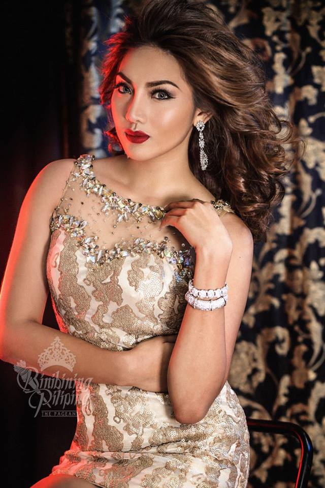 Binibini #33-LEONALYN DELA CRUZ during Binibining Pilipinas 2016 Glam Shots
