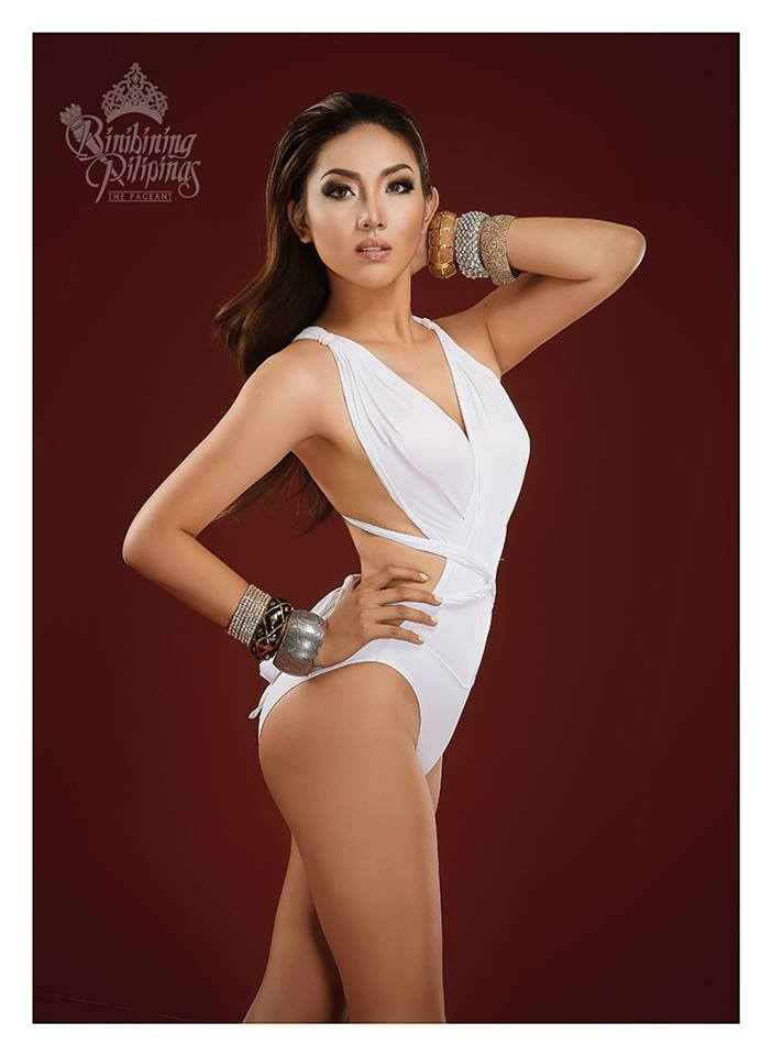 Binibini #33 LEONALYN DELA CRUZ during Binibining Pilipinas 2016 Swimsuit portraits