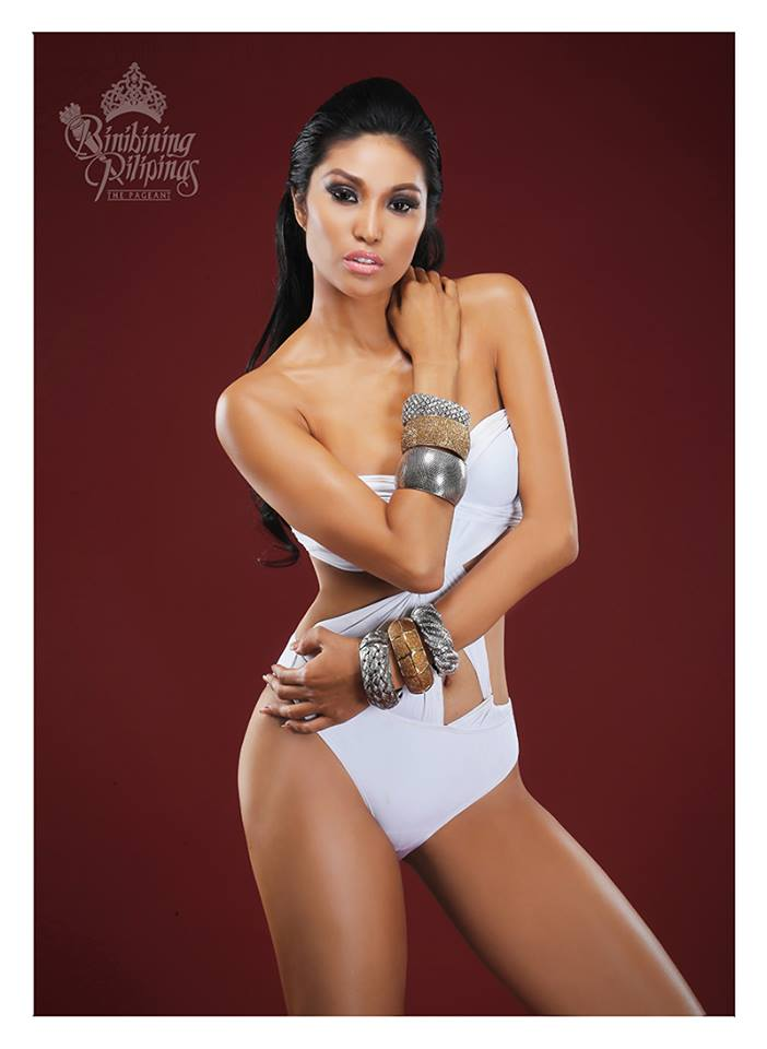 Binibini #34 SARAH CHRISTINE BONA during Binibining Pilipinas 2016 Swimsuit portraits