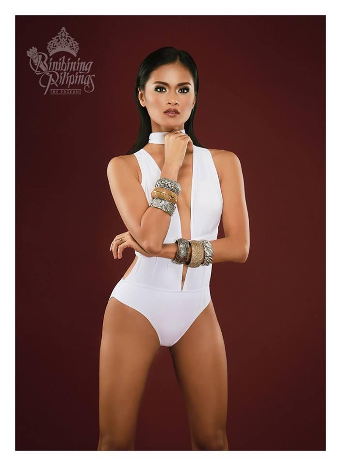 Binibini #39 SISSEL RIA RABAJANTE during Binibining Pilipinas 2016 Swimsuit portraits