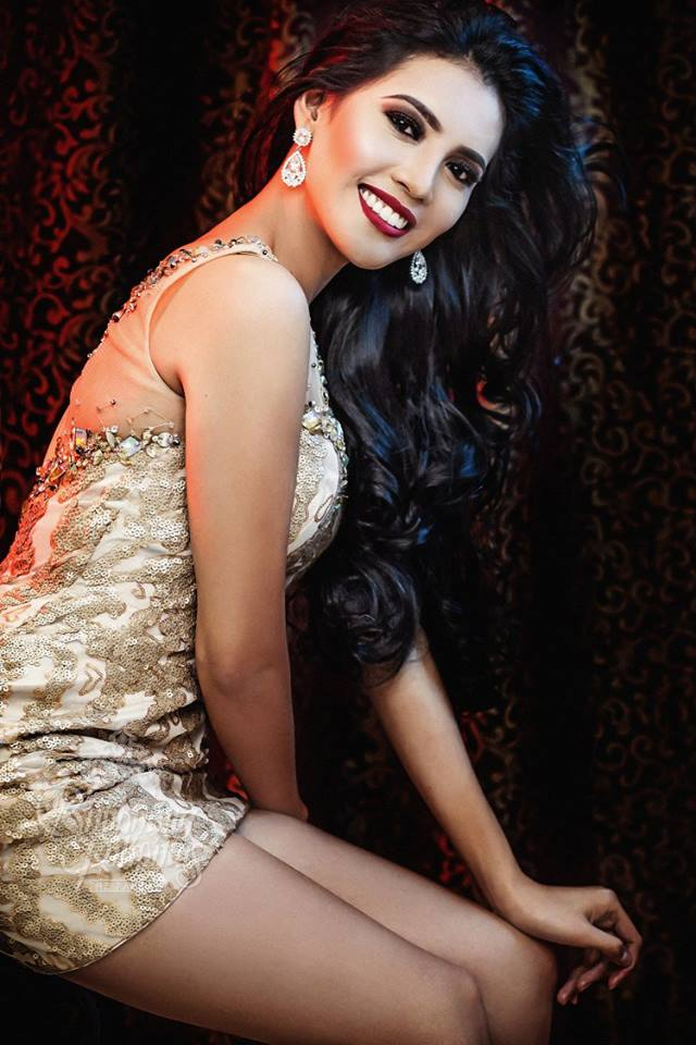 Binibini #6-CANDY N. DEL CASTILLO during Binibining Pilipinas 2016 Glam Shots