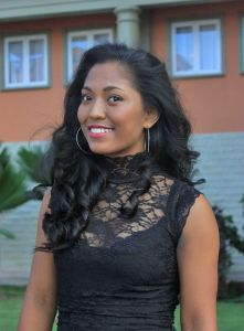 Anais Nourrice is a contestant of Miss Seychelles Another World 2016