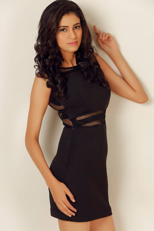 Andleeb Aeliya Zaidi is a contestant of Campus Princess 2016