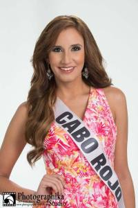 Cabo Rojo is a contestant of Miss Mundo de Puerto Rico 2016