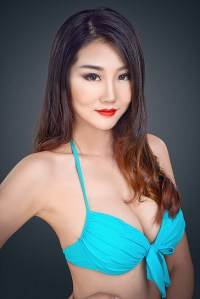 Wenying Chen is representing China at Supermodel International 2016