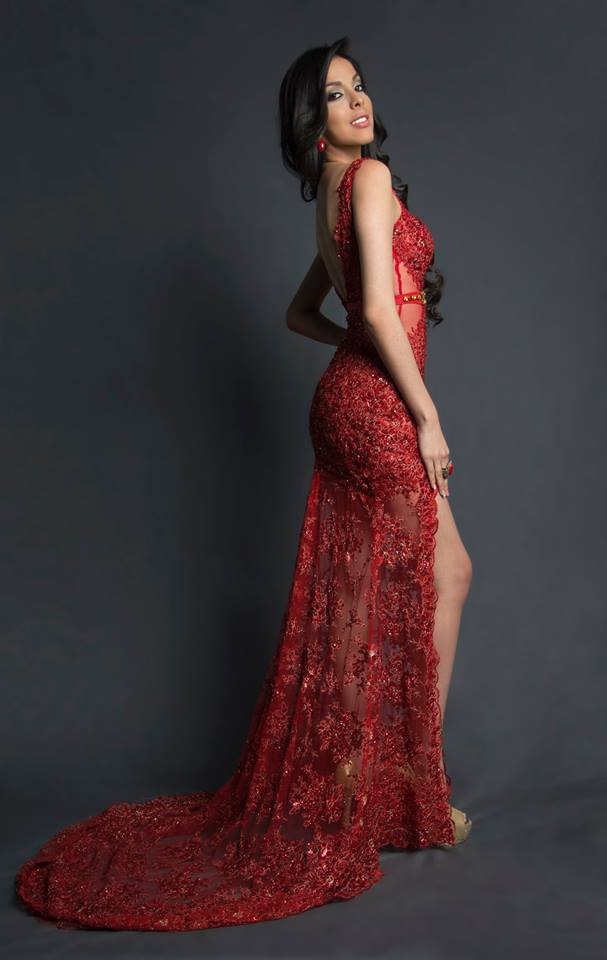 Karla Morales during Miss Ecuador 2016 Evening Gown Portraits