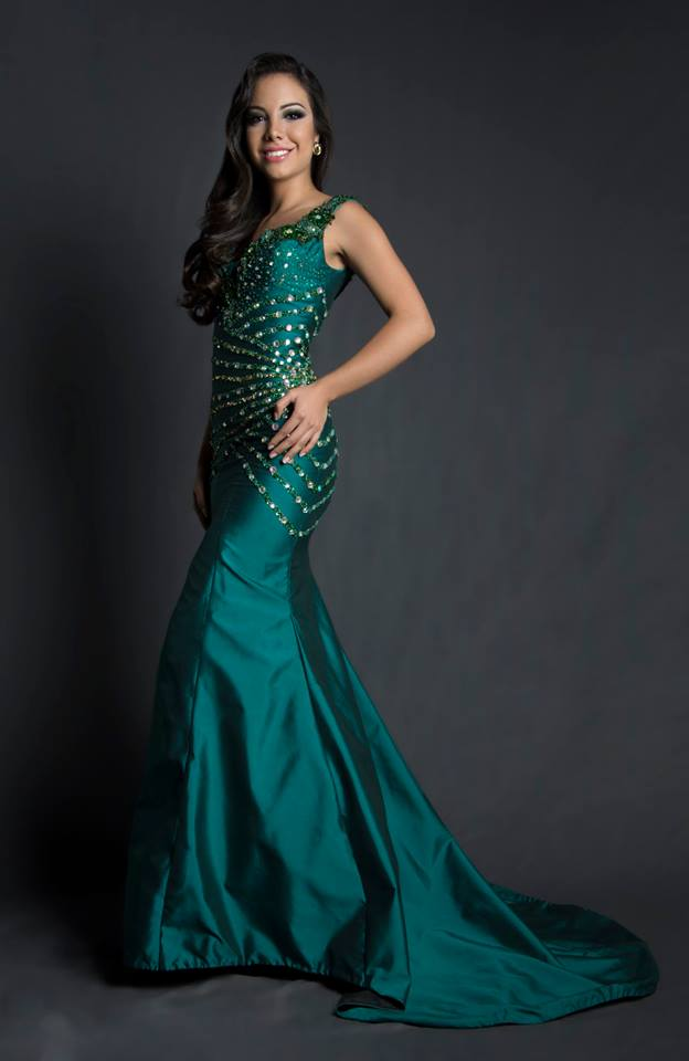 Milkha Moreira during Miss Ecuador 2016 Evening Gown Portraits