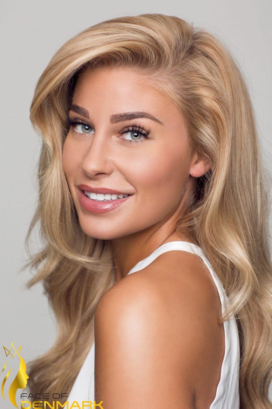 Miss Universe København-Christina Mikkelsen is a contestant of Face of Denmark 2016