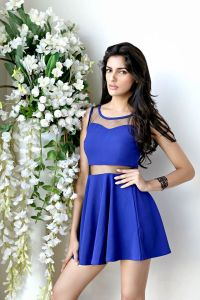 Natasha Singh during Femina Miss India 2016 Casual Photo shoot