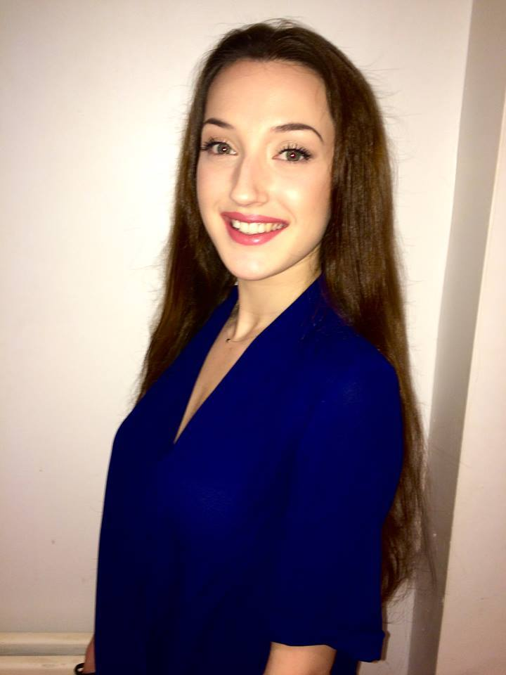 Paige Gershenson is a contestant of Miss Wales 2016