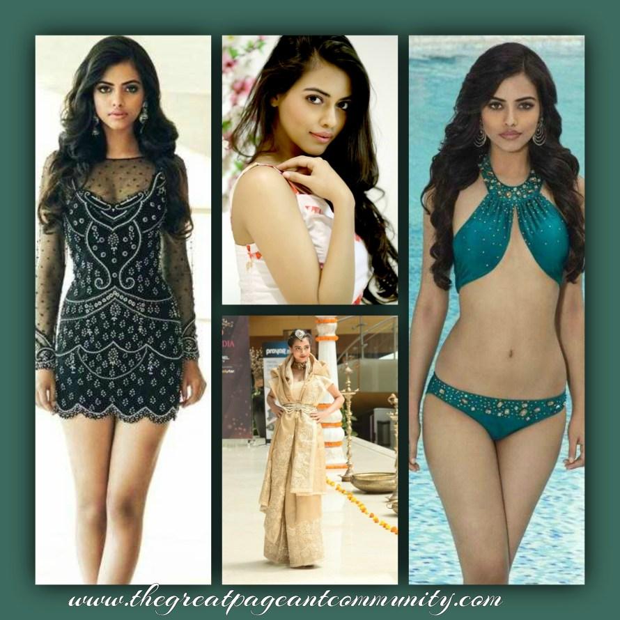 Priyadharshini Chatterjee is one of favorites for Femina Miss India 2016