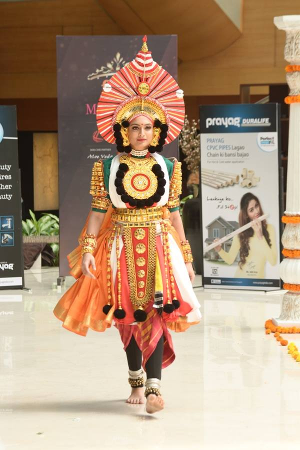 Roshmitha Harimurthy in National Costume