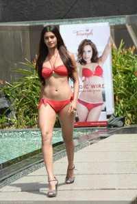 Sushruthi Krishna in Bikini Femina Miss India 2016