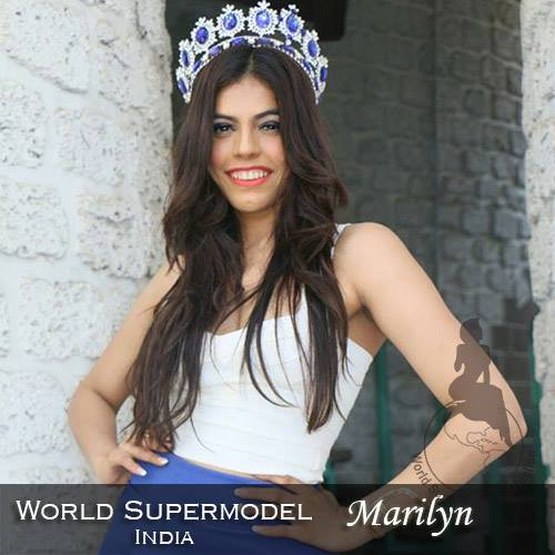 World Supermodel India - Marilyn is a contestant at World Supermodel 2016