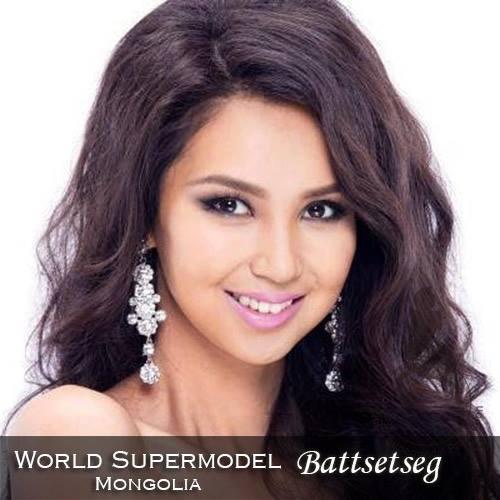 World Supermodel Mongolia - Battsetseg is a contestant at World Supermodel 2016