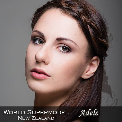 World Supermodel New Zealand - Adele is a contestant at World Supermodel 2016