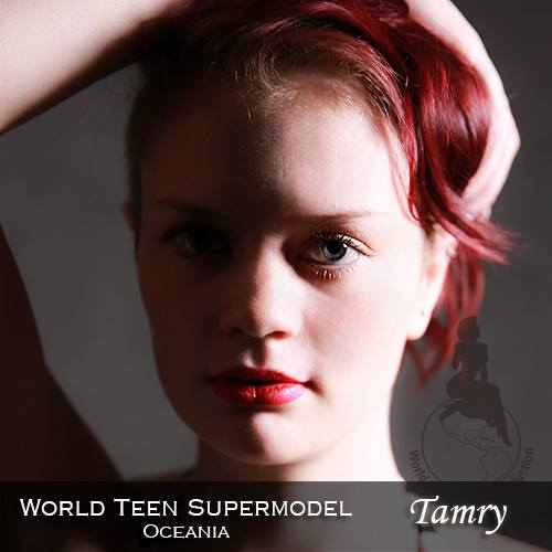 World Teen Supermodel Oceania - Tamry is a contestant at World Supermodel 2016