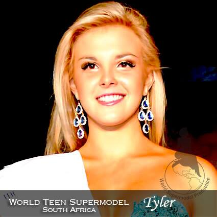 World Teen Supermodel SOputh Africa - Tyler is a contestant at World Supermodel 2016