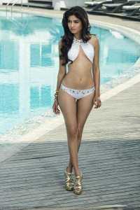Zeba Baig in Swimsuit