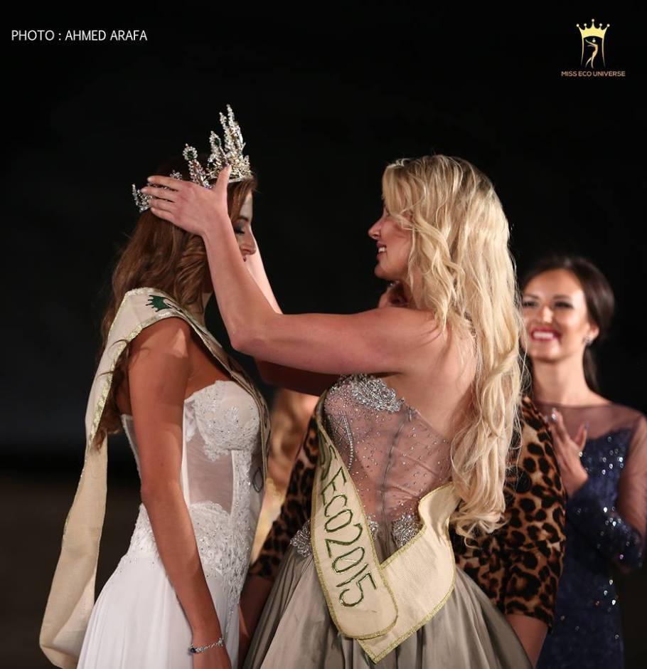 Natalia Carvajal Miss Eco Universe 2016