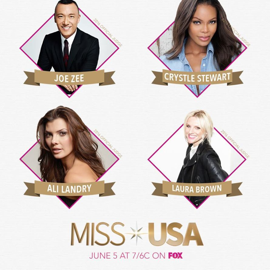 Miss USA 2016 Judges