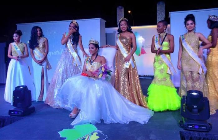 Nuriyyih Gerrard is Miss World Guyana 2016