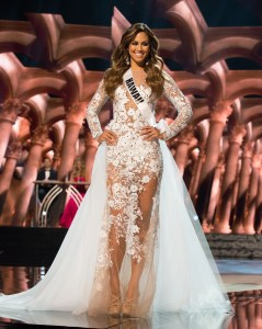Chelsea Hardin, Miss Hawaii USA competes during the evening gown competition at Miss USA 2016 preliminary show
