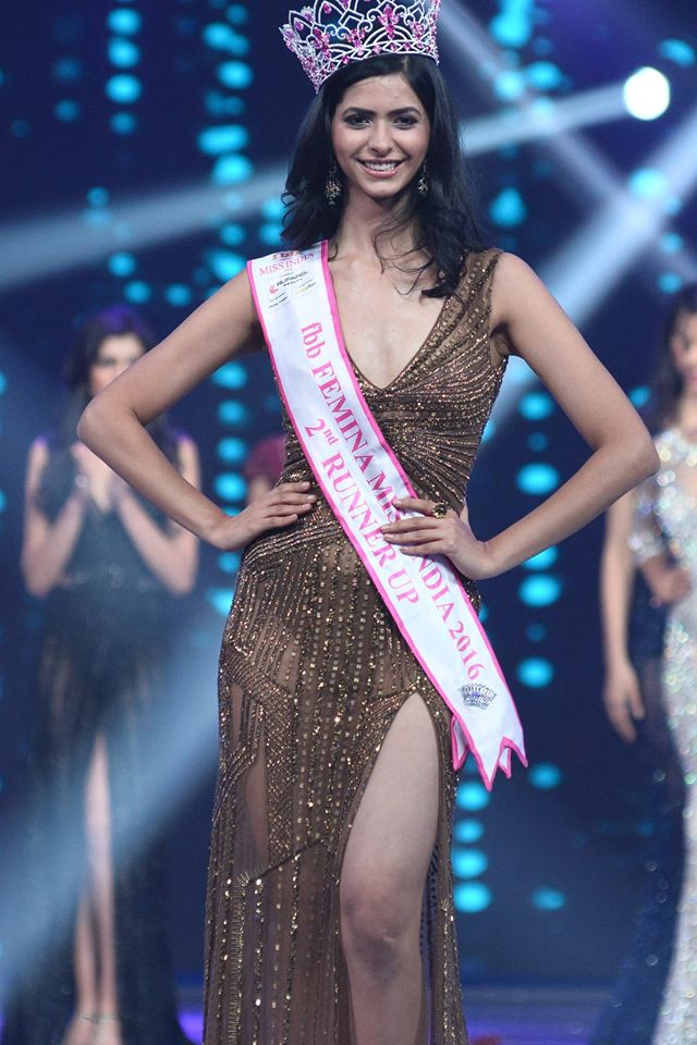 Pankhuri Gidwani Femina Miss India 2016 second runner-up will represent India at Miss Grand International 2016