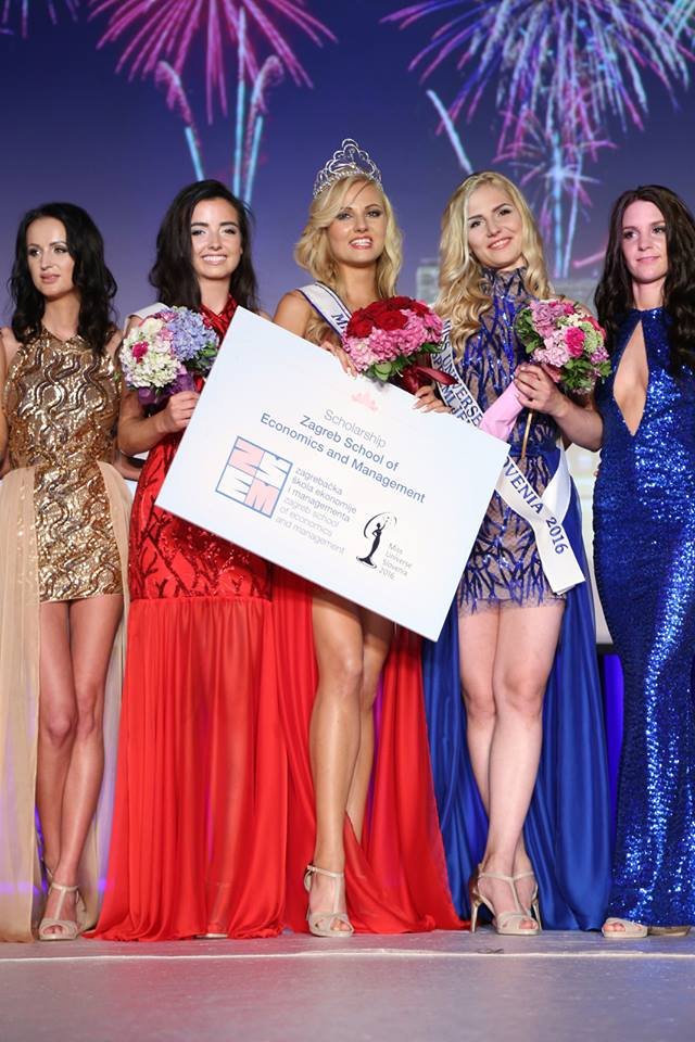 Lucija Potočnik won Miss UNiverse Slovenia 2016, she will represent Slovenia at Miss Universe 2016 pageant