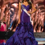Zena Malak, Miss Illinois USA competes during the evening gown competition at Miss USA 2016 preliminary show