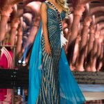Whitney Sharpe, Miss Massachusetts USA competes during the evening gown competition at Miss USA 2016 preliminary show