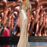 Bridget Jacobs, Miss Minnesota USA competes during the evening gown competition at Miss USA 2016 preliminary show