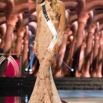 Abby Floyd, Miss Arkansas USA competes during the evening gown competition at Miss USA 2016 preliminary show