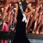 Theresa Agonia, Miss Rhode Island USA competes during the evening gown competition at Miss USA 2016 preliminary show