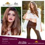 Tamires Terrazon is representing CATARATAS DO IGUAÇÚ - PR at Miss Mundo Brasil 2016
