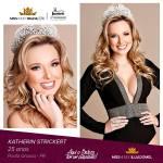 Katherin Strickert is representing ILHA DO MEL - PR at Miss Mundo Brasil 2016