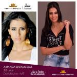 Amanda Barbacena is representing MATO GROSSO at Miss Mundo Brasil 2016