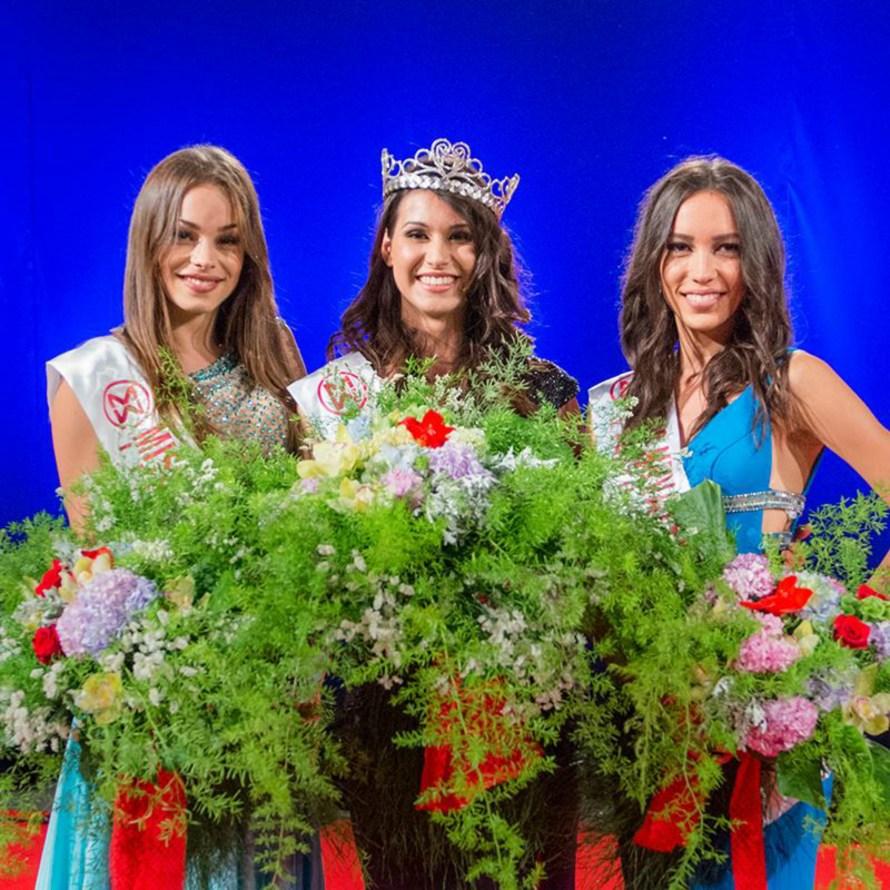 Angelica Zacchigna won Miss Hrvatske 2016 she will represent Croatia at Miss World 2016