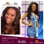 Samen dos Santos is representing PAMPA GAÚCHO at Miss Mundo Brasil 2016