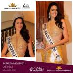 Marianne Faina is representing TRIÂNGULO MINEIRO at Miss Mundo Brasil 2016