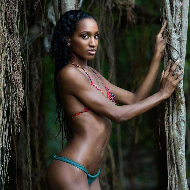 Magalie Adelson is Miss World Guadelope 2016
