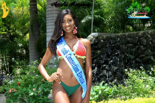 Ashlie Barrett has been chosen as Miss Jamaica World 2016
