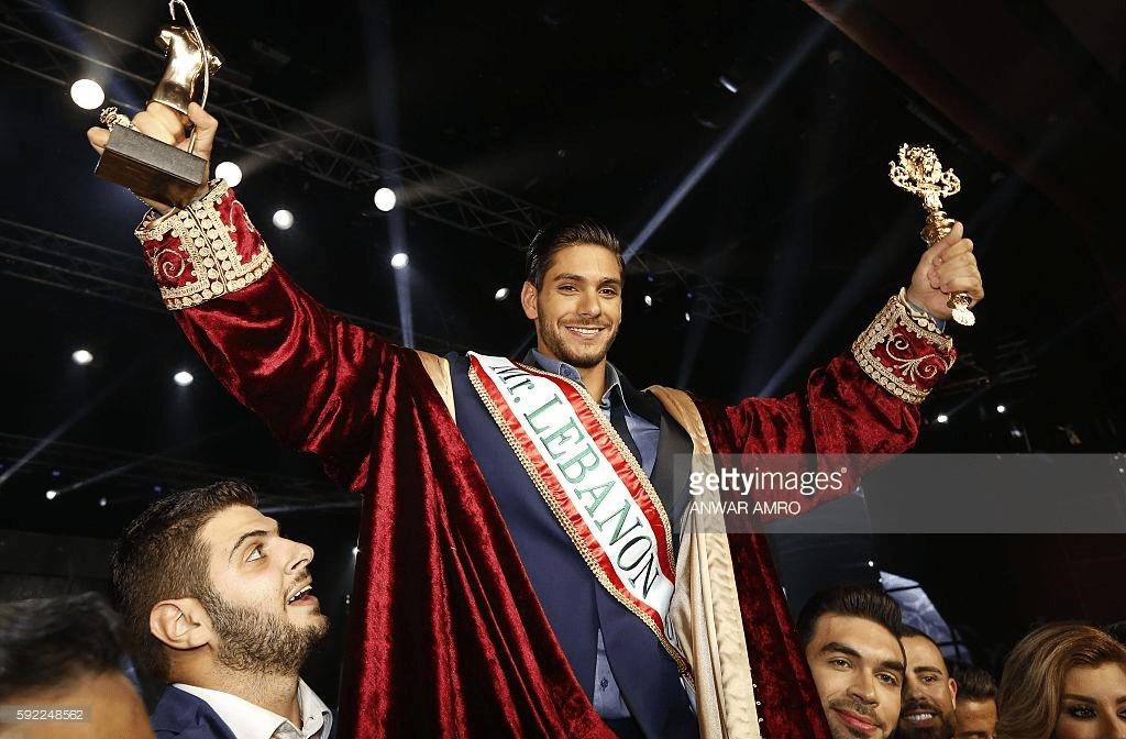 Paul Iskandar, wins Mister Lebanon 2016