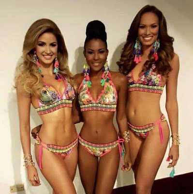 Charlene Leslie is Miss Universe Aruba 2016